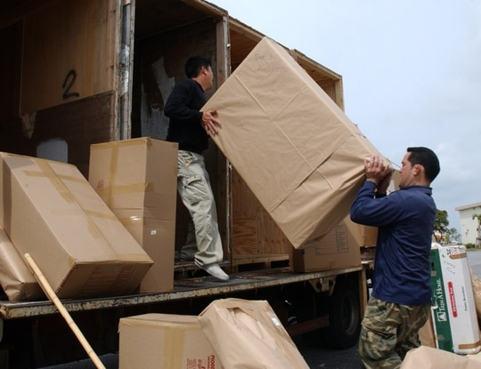 Some military families have experienced delays in getting their household goods this summer. If your belongings are delayed, you can file an inconvenience claim with the transportation service provider. (Senior Airman Jeremy McGuffin/Air Force)
