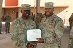 Soldier receives ARCOM for his actions during the El Paso shooting