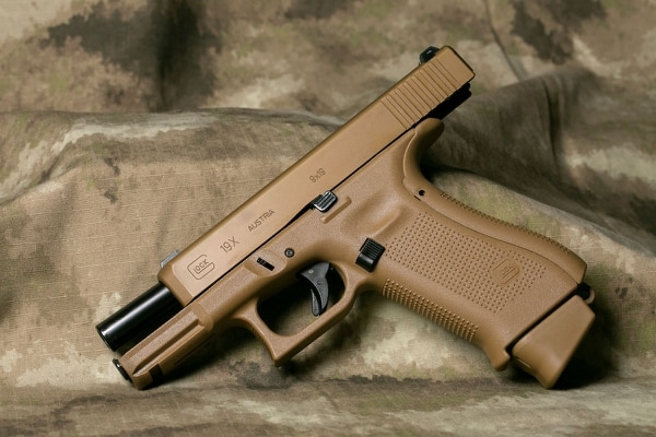There are a lot of factors that go into how a gun shoots — mostly focused on shooter technique. But suffice it to say, the 19X was hands down one of the most accurate stock pistols we've shot at a match. (Photo: Military Times)