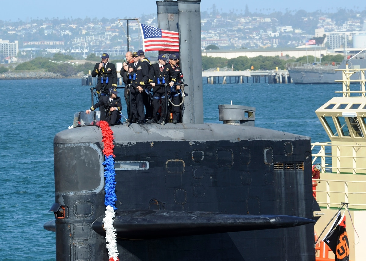 The Navy is retiring a submarine that miraculously survived