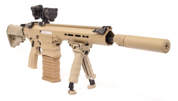 With a suppressor, the MARS/Cobalt Kinetics rifle is actually more reliable than it is without one.