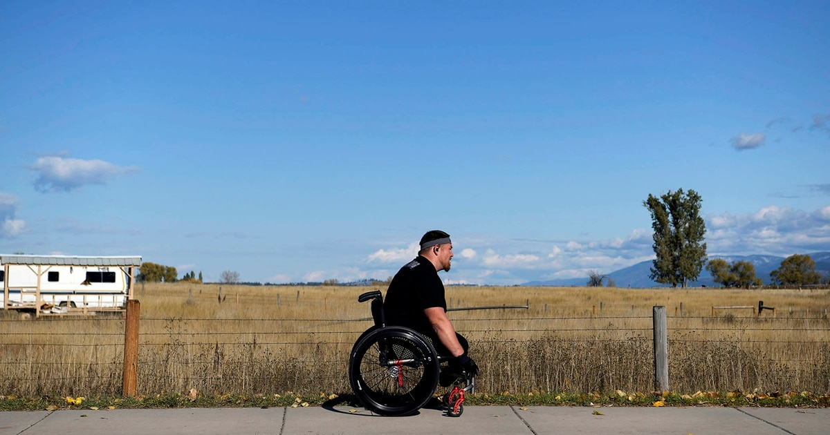 Marine who lost legs to IED in Afghanistan competes in half-marathon races, finds sobriety