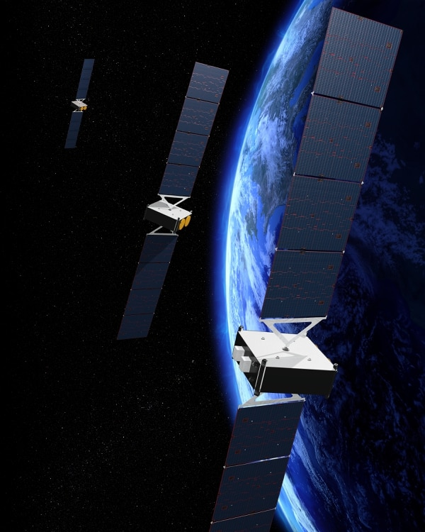 The O3b mPOWER satellites will be built using electronics from the flight-proven 702 satellite platform. (Boeing)