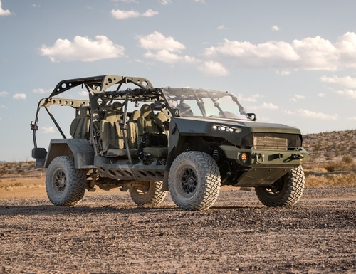 GM Defense has been awarded a contract to produce the Army's new Infantry Squad Vehicle.