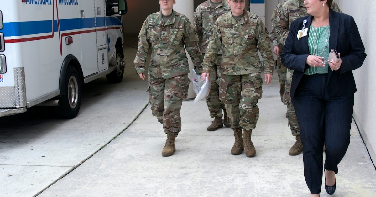 Latest Guard update: More than 10,000 troops mobilized for COVID-19 response