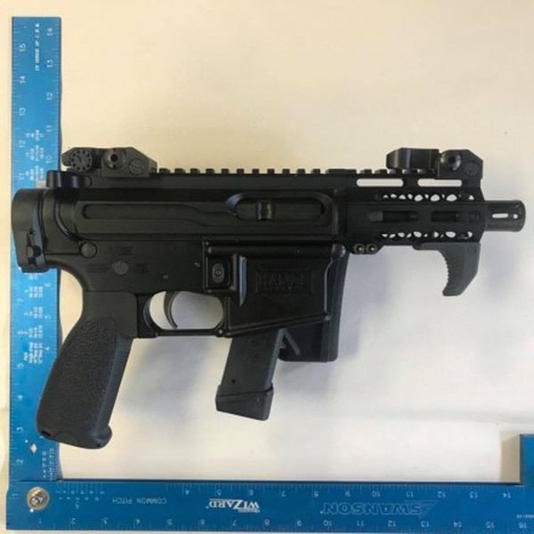 This is the Handl Defense submission for the Army's latest efforts at finding a 9 mm sub compact weapon for personal defense. (soldiersystems.net)