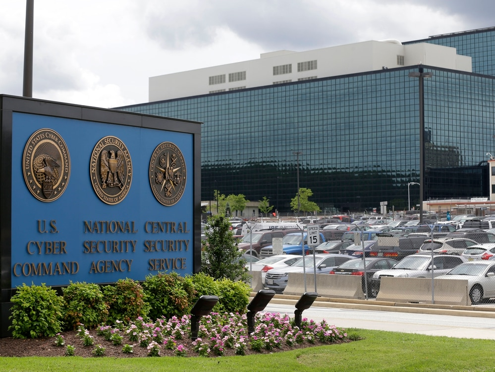This file photo shows the National Security Administration (NSA) campus in Fort Meade, Md. President Donald Trump has agreed to elevate U.S. Cyber Command. (AP Photo/Patrick Semansky, File)