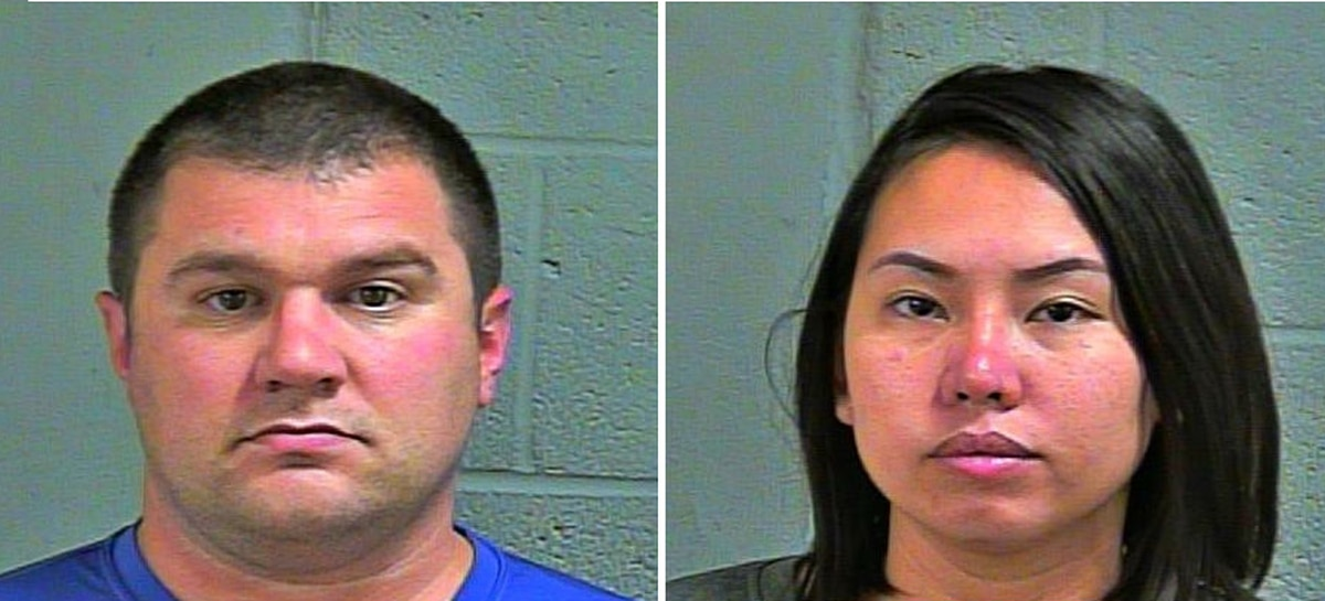 Sailor, wife accused of running prostitution ring out of Oklahoma