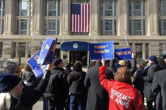Federal employee unions worry that labor relations officials that push back on recent executive orders could face retaliation from leadership. (Leo Shane III/Staff)