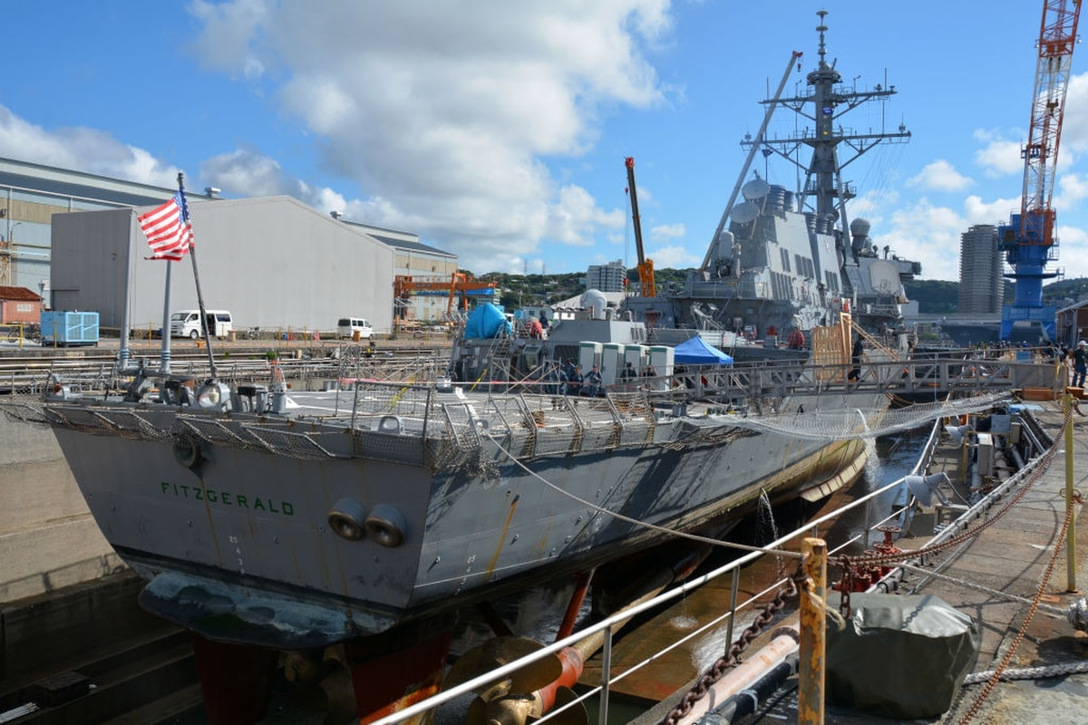 Mississippi shipyard selected to repair the Fitzgerald