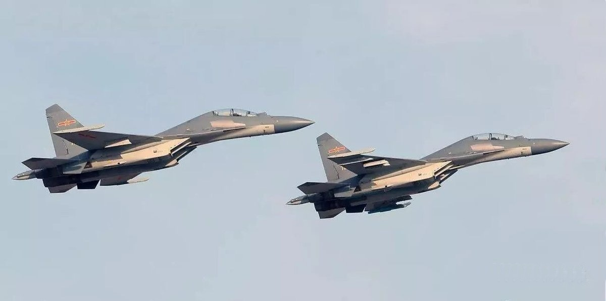 Images reveal China's J-16 jets stepping up introduction ...