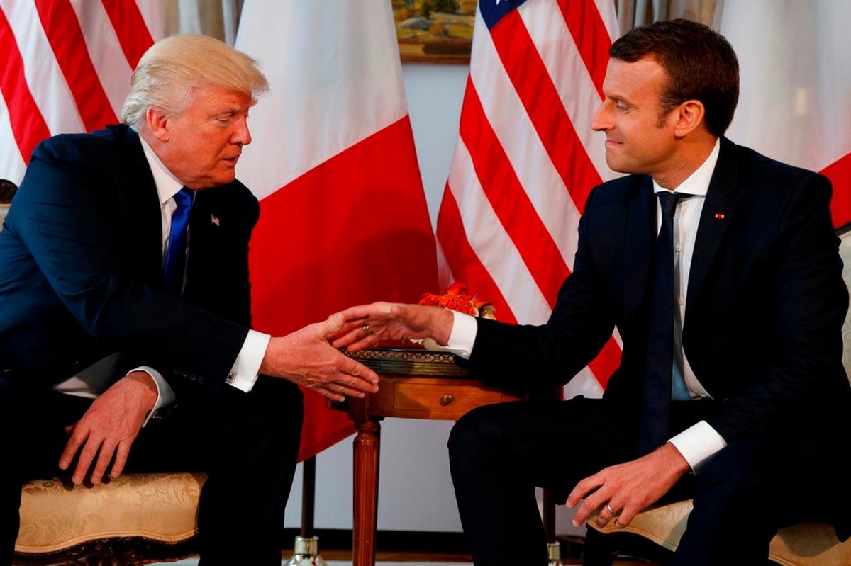 Why French Globalist Macron Is Befriending Nationalist Trump