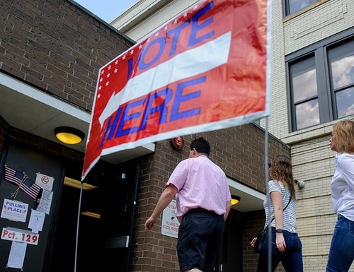 Top U.S. officials said that state election infrastructure was safe heading into Election Day 2019. (Jeff Swensen/Getty Images)
