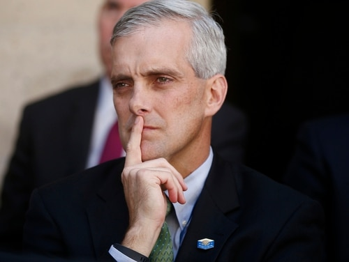 President-elect Joe Biden is nominating former President Barack Obama's White House chief of staff Denis McDonough as secretary of the Department of Veterans Affairs. (Charles Dharapak/AP)