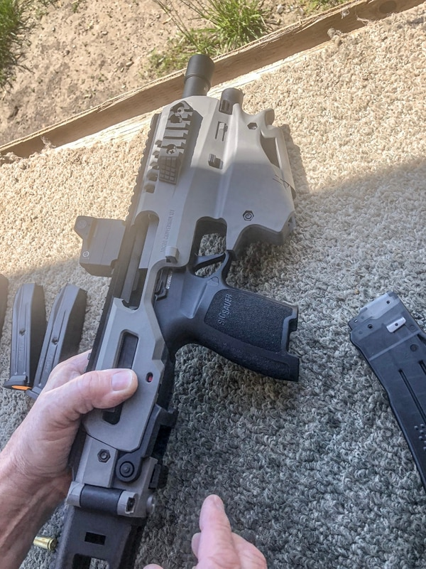 We tried out CAA's latest pistol conversion kit at Gat Show 2019