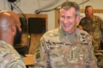Trump strategy is working, departing general in Afghanistan says