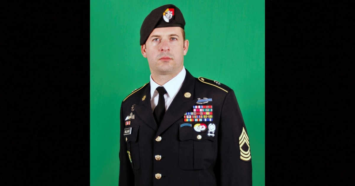 Medal of Honor announced for Green Beret who braved enemy fire to rescue teammates in Afghanistan