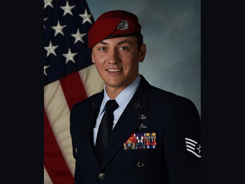 Germanovich joined the Air Force in 2012 and is a combat controller with the 26th Special Tactics Squadron. (U.S. Air Force)