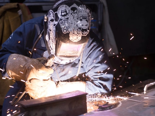 Technical skills taught in the military, such as welding, can be very valuable to civilian employers. (Mass Communication Specialist Seaman Apprentice Conner Houghtaling/Navy)