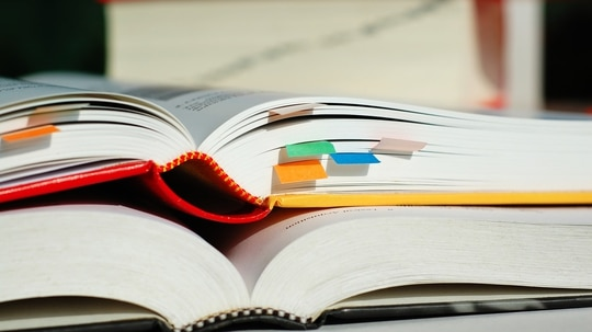 Reference books qualify as Pro-Gear for military moves. (Zoonar RF/Getty Images)
