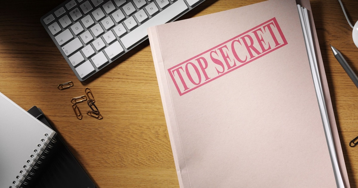 Hang On To Your Security Clearance Forms