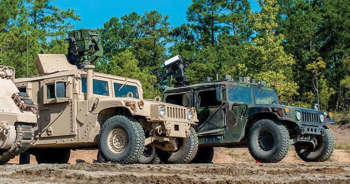 This Robotic Humvee Can Take Point