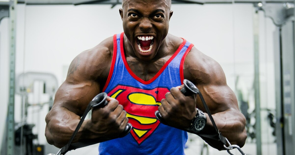 At 21, airman is youngest pro bodybuilder