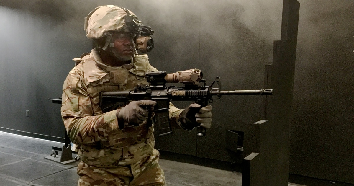 New night vision means soldiers can shoot around corners