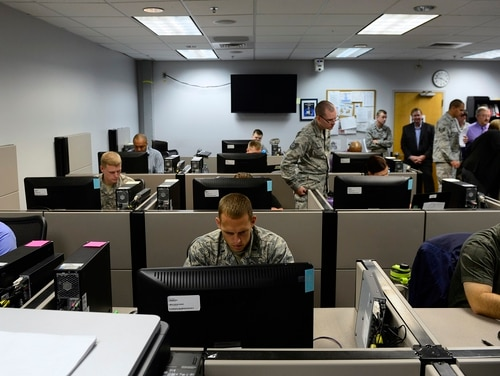 As the Air Force expects cyber to play a critical role in future conflicts, schools like the 39th Information Operations Squadron become increasingly important in preparing airmen for that battlespace. (Courtesy DoD)