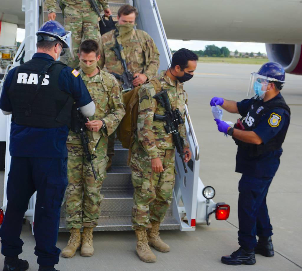 Fort Bragg's 82nd Airborne Division's Immediate Response Force