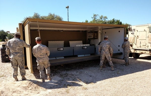 Researchers with the U.S. Army Research Development Engineering Command have found a host of ways to make mission command equipment more mobile, rugged, resilient and easier to use Expeditionary Command Post pictured here. (RDECOM)