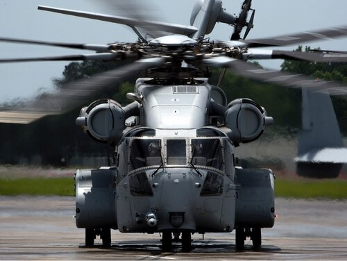 The Corps took delivery of its first CH-53 King Stallion on May 16, 2018 at the New River Air Station in Jacksonville, North Carolina. (Marine Corps)