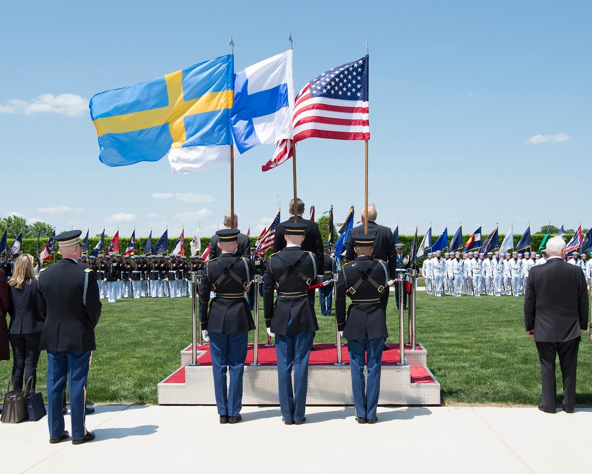 Finland Sweden And Us Sign Trilateral Agreement With Eye On