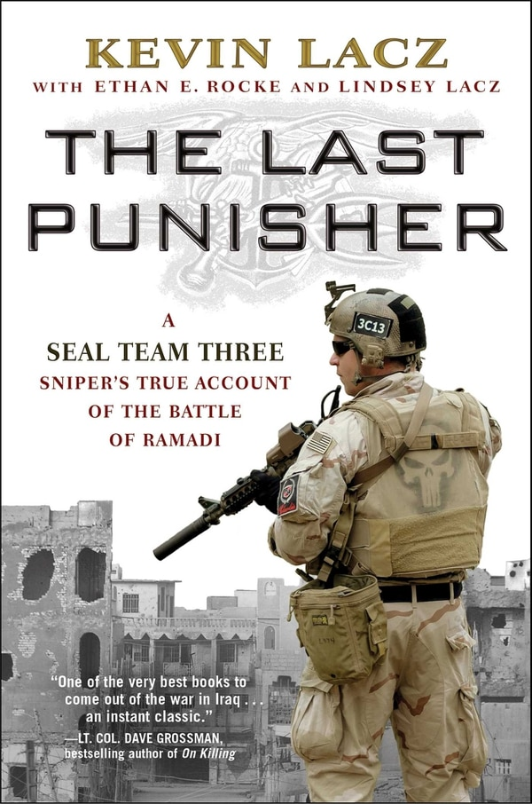 Former SEAL Kevin Lacz pens 'raw' account of Iraq and Chris Kyle