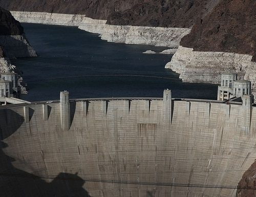 The Interior Department's Inspector General released a report June 11, 2018, concluding that two of the five dams managed by the U.S. Bureau of Reclamation, such as Hoover Dam pictured here, are at risk for