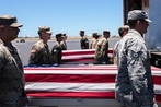 Remains of fallen American troops headed back from North Korea