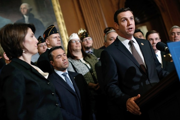 WASHINGTON, DC - MAY 29: Rep. Duncan Hunter (R-CA) speaks during a news conference held by House Republicans on