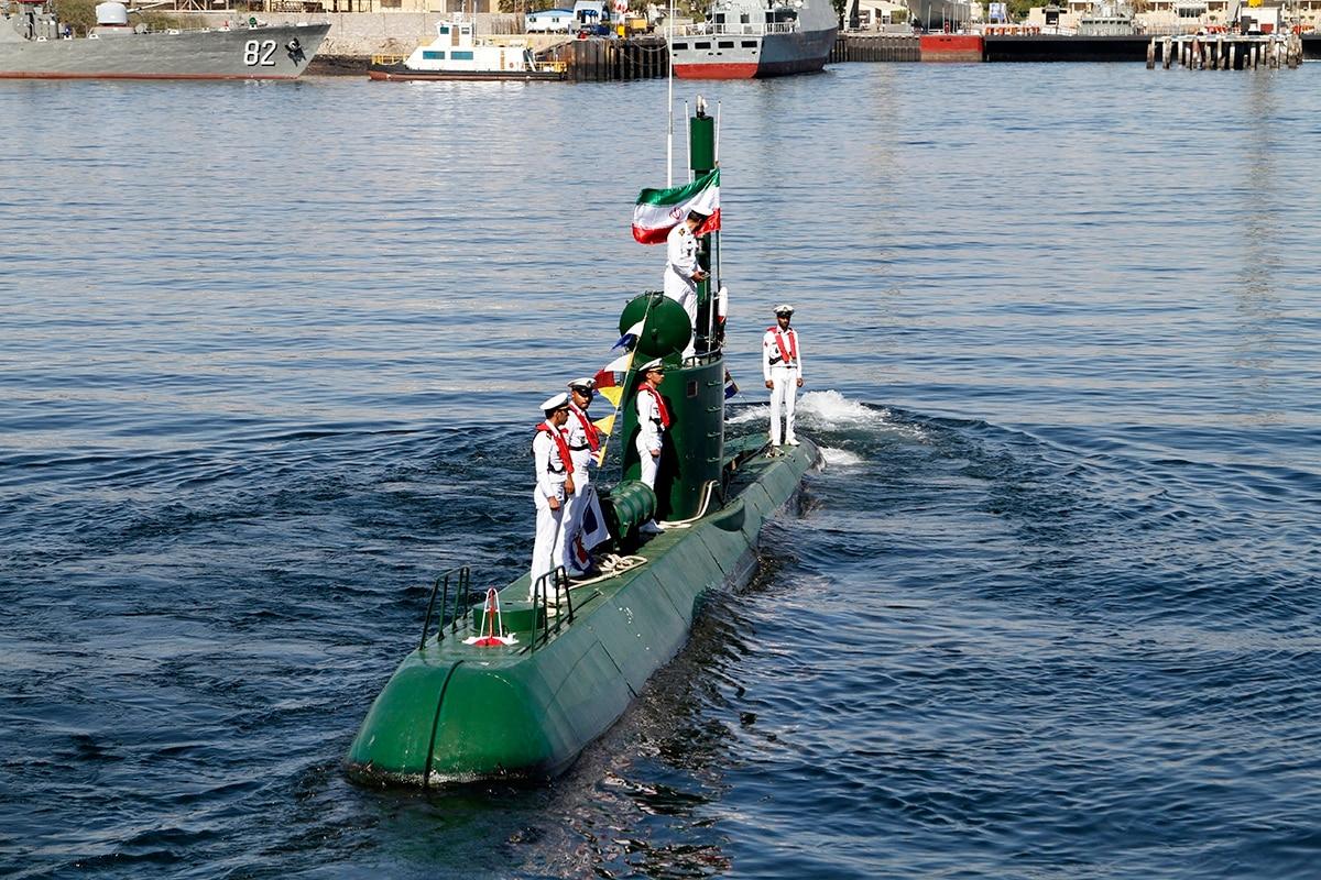 iran adds 2 mini submarines to naval fleet