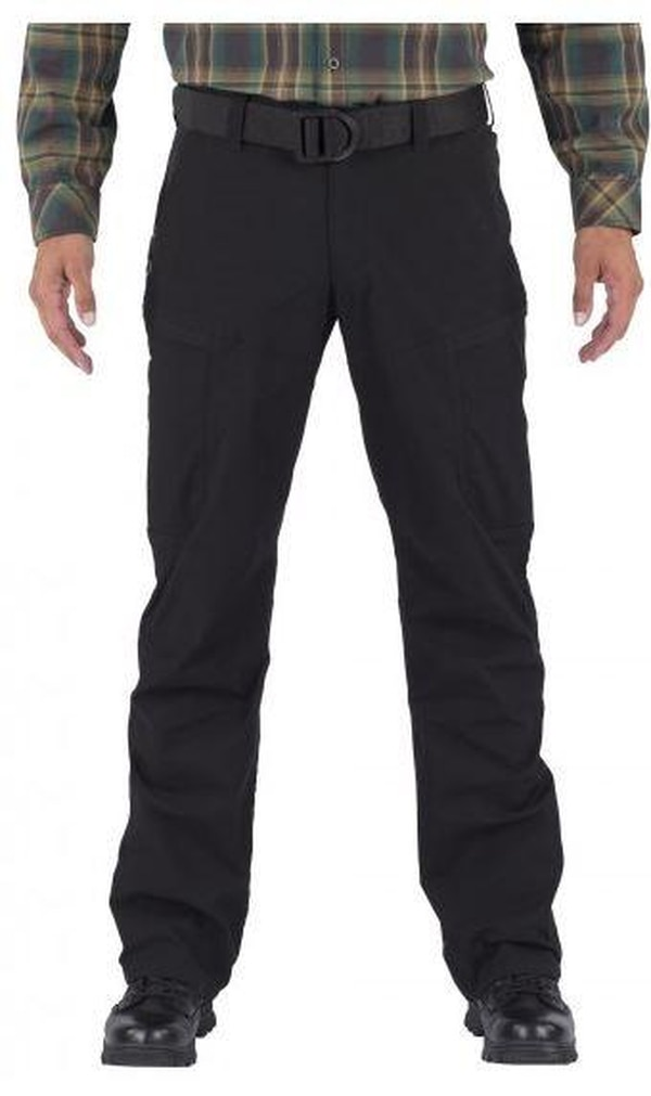 "According to 5.11 Tactical, their new Apex pants are ""the perfect fit for a weekend hiking excursion."""