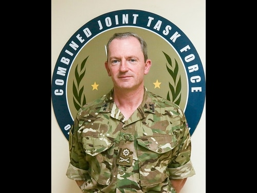 Maj. Gen. Christopher Ghika is the Deputy Commander-Strategy and Information (S&I) Combined Joint Task Force – Operation Inherent Resolve. (DoD)