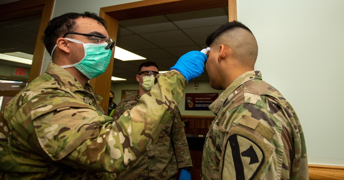 As COVID-19 cases continue to rise, the military could throttle how much information it releases