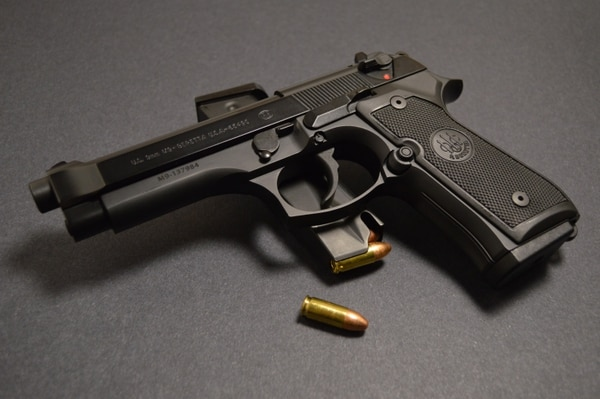 At the height of the Cold War, the Pentagon sought a joint service sidearm with NATO-compliant rounds in the event of a European war with the Soviet Union. Beretta's 9 mm M9 - which held 15 rounds to the M1911's seven - fit the bill. (HistoryNet)