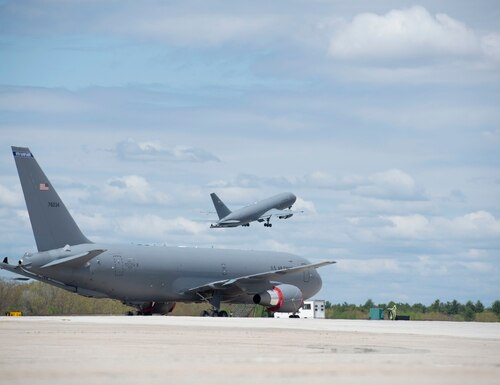 Once the Remote Vision System is overhauled, the KC-46 will be cleared for combat operations. (Staff Sgt. Victoria Nelson/U.S. Air Force)