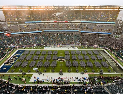 The 120th Army-Navy football game was played Dec. 14, 2019, at Lincoln Financial Field in Philadelphia. (West Point)