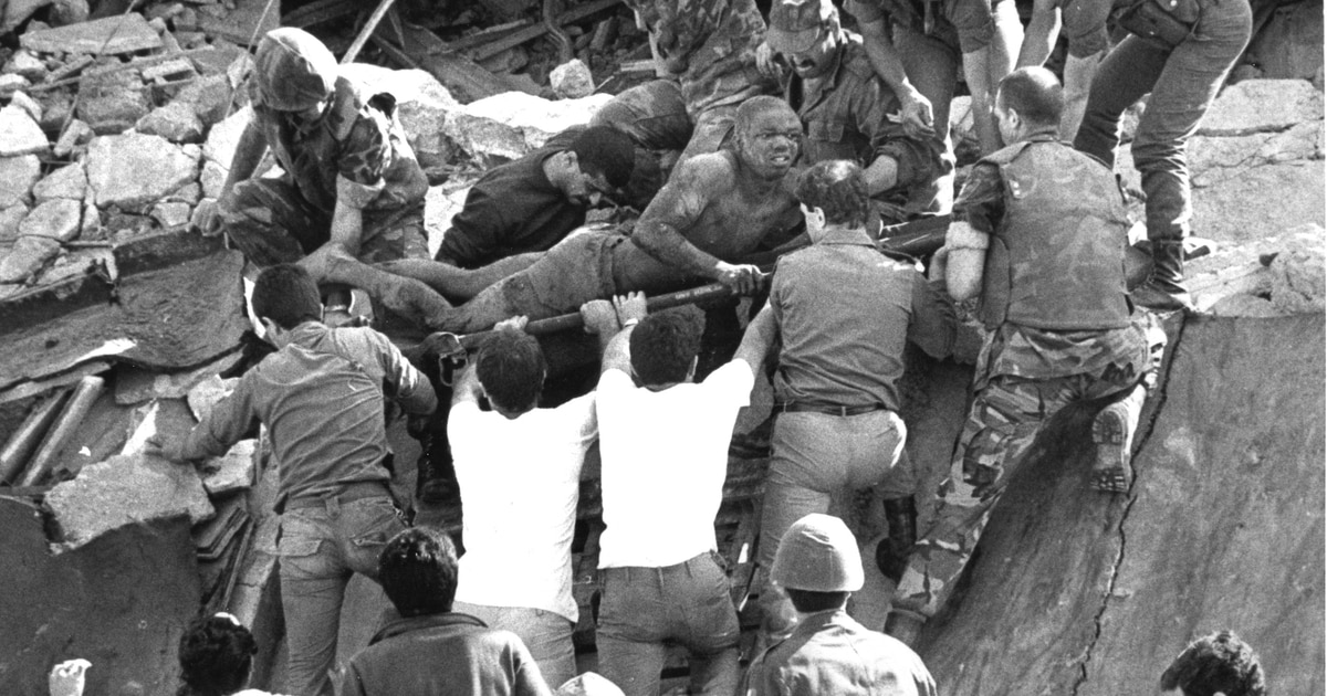 A National Day of Remembrance for the 1983 Beirut bombing victims ― A Marine veteran congressman wants it official