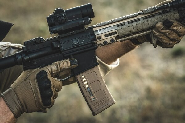 Magazines such as Magpul's PMAG are very popular among troops, and many of them blasted AAFES when the exchange decided to stop selling those magazines in its stores. (Courtesy photo)