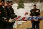 First enlisted woman to retire from the Marine Corps buried in Arlington