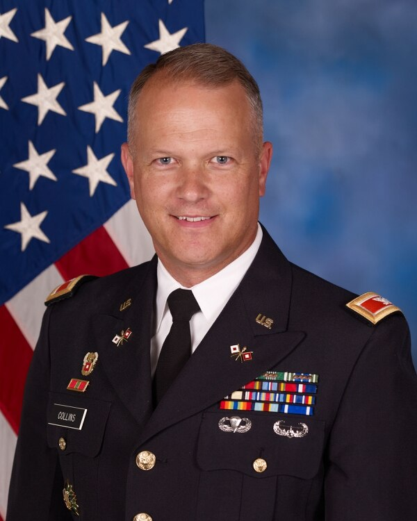 Col. Robert Collins, Project Manager, Distributed Common Ground System-Army