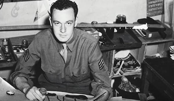 Army Sgt. Stan Lee served from 1942 to 1945. (Army)