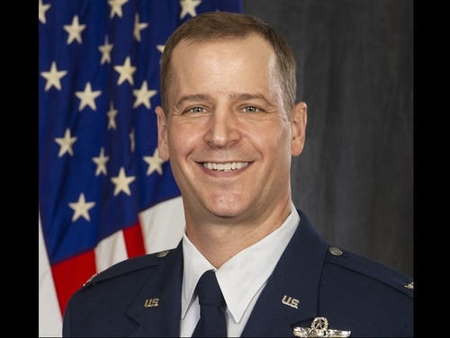 Col. Timothy Danielson has been relieved as commander of the 71st Flying Training Wing at Vance Air Force Base in Oklahoma. (Air Force)